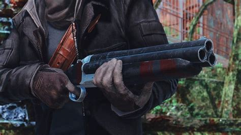 Fix For Triplebarrel Shotgun Fallout 4 Ps4