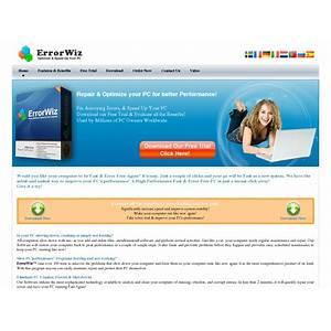 Fix annoying errors & speed up your pc errorwiz com promo