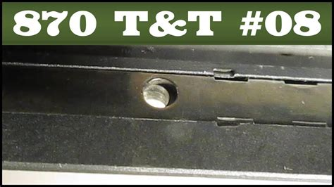 Fixing A Displaced Shell Latch Remington 870 Tips Tricks 8