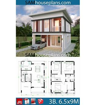 Flat Roof Cabin Plans