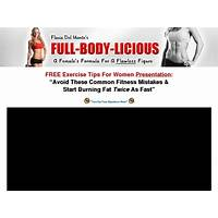 Flavia del monte's full body licious & curvalicious workout systems discount code