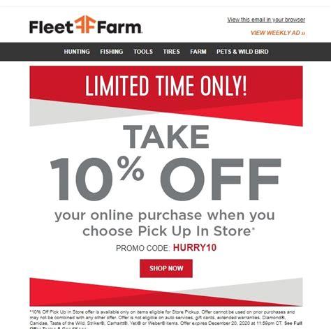 Fleet Farm Promo Code