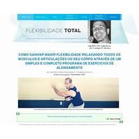 Flexibilidade total (new joey atlas' program in portuguese) technique
