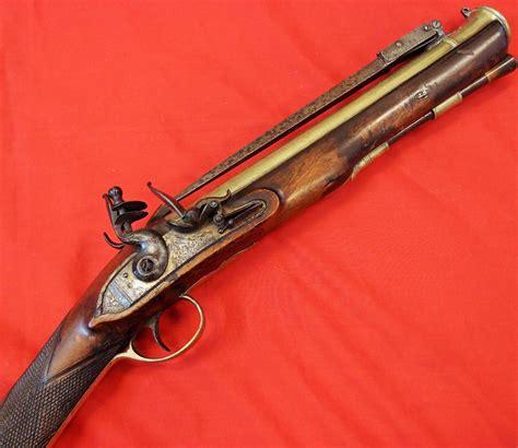 Flintlock Rifle With Bayonet