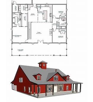 Floor Plans For Pole Barn Home