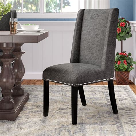 Florinda Wood Leg Upholstered Dining Chair
