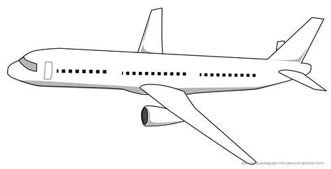Flugzeug Malvorlage