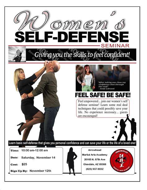Flyer Self Defense