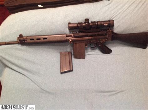 Fn Fal 308 Assault Rifle For Sale