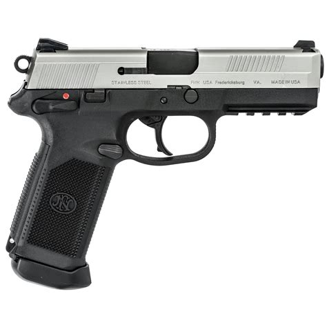 FN FNX-45 TACTICAL 5 3IN 45 ACP BLACK STAINLESS 15 1RD