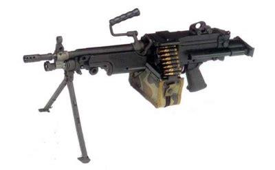 Fn Minimi 5 56x45mm With 200round Ammo Drum Machine