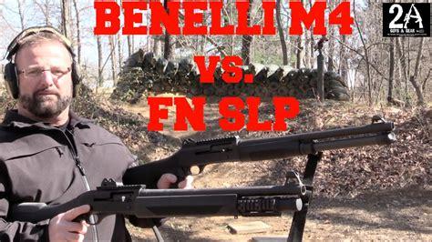 Fn Slp Semi Auto Shotgun Vs Benelli M4
