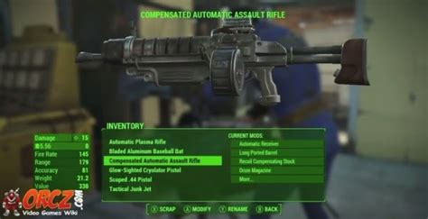 Fo4 Assault Rifle Reload Speed
