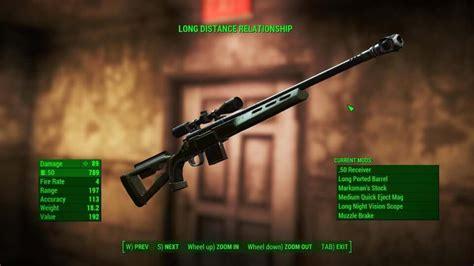Fo4 Combat Sniper Rifle