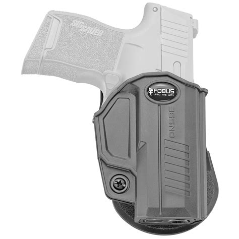 Fobus Paddle Holster For Sig P365