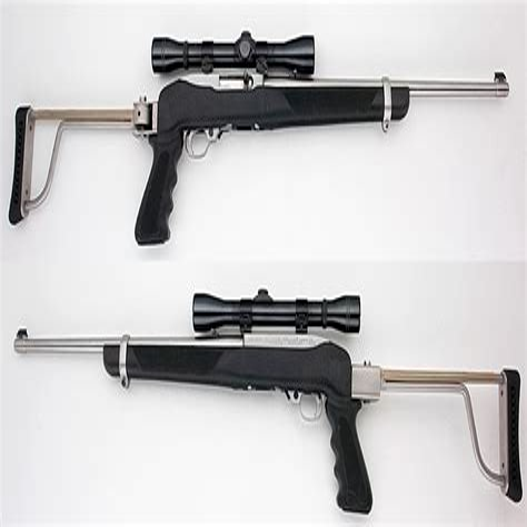 Folding Stock 22 Rifle
