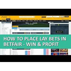 Football sports betting for profit ? make money off football (soccer) lay betting on betfair instruction