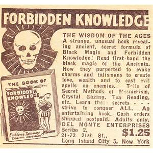 Forbidden knowledge reviews