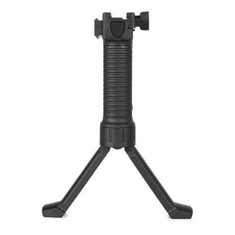 Fore Grip Bipod Pod Picattinny Weaver Rail Rifle Foregrip