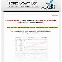 Forex growth bot low risk to reward, plenty of proof methods