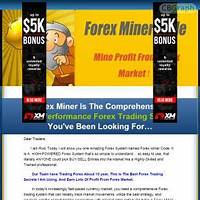 Forex miner code get lots of profit from forex market comparison