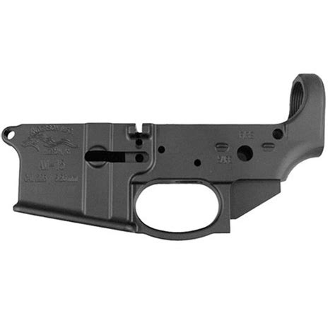 Forged Ar Lower With Trigger Guard
