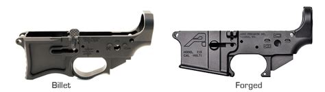 Forged Or Billet Lower Receivers