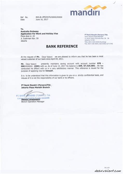 Formal Letter Bahasa Inggris Resume Writing Nz