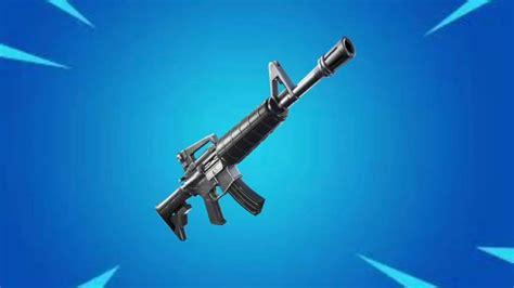 Fortnite Assault Rifle Sound