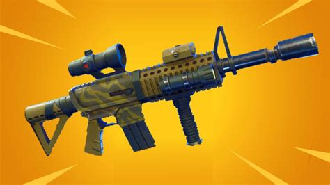Fortnite Assault Rifle With Scope