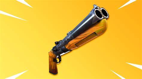 Fortnite Double Barreled Shotgun