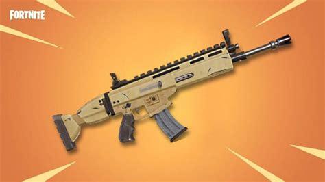 Fortnite Legendary Assault Rifles List