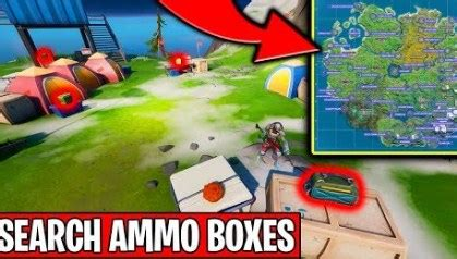 Fortnite Places With Most Ammo Boxes