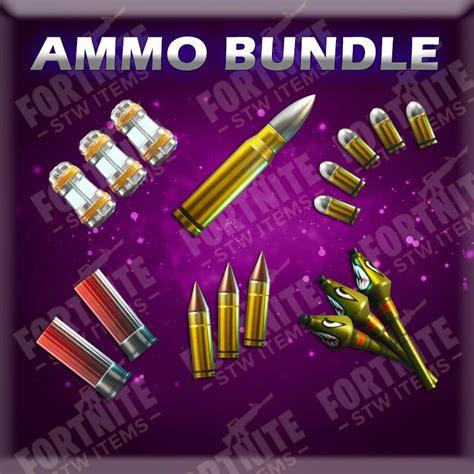 Fortnite Shotgun Crafting Ammo