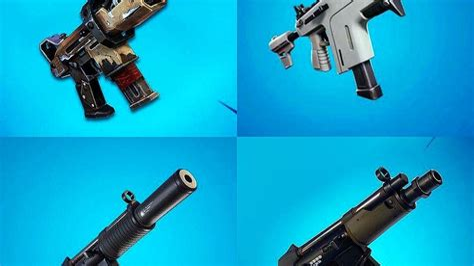 Fortnite Smg Useless Vs Shotgun And Hk Caws Vs Combat Shotgun