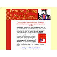 Fortune telling with regular playing cards! the middle eastern way free trial