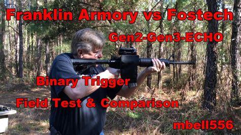 Fostech Binary Trigger Vs Franklin