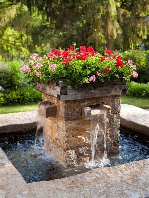 Fountain garden ideas Image