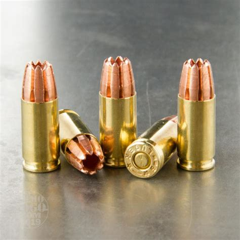 Fragmenting 9mm Ammo