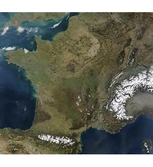 France Carte Plan Photo Satellite