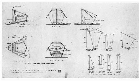 Frank Lloyd Wright Plywood Chair Plans