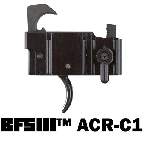 Franklin Armory Bushmaster Acrc1 Bfsiii Trigger Acrc1 Binary Firing System Bushmaster Acr Curved Trigger