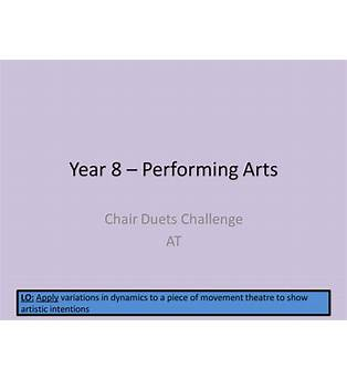 Frantic Assembly Chair Duets Lesson Plan