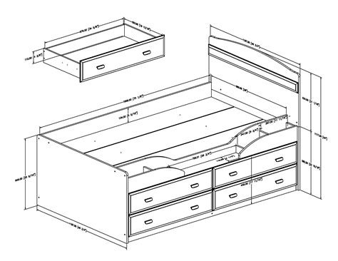 free captains bed woodworking plans.aspx Image