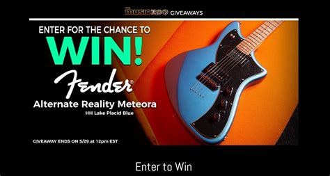 Free Gear Giveaway The Music Zoo