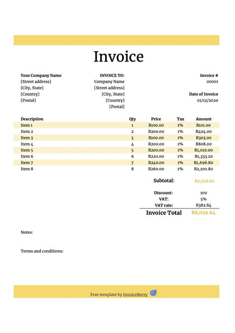 Free Invoice Template Numbers CV Templates Download Free CV Templates [optimizareseo.online]