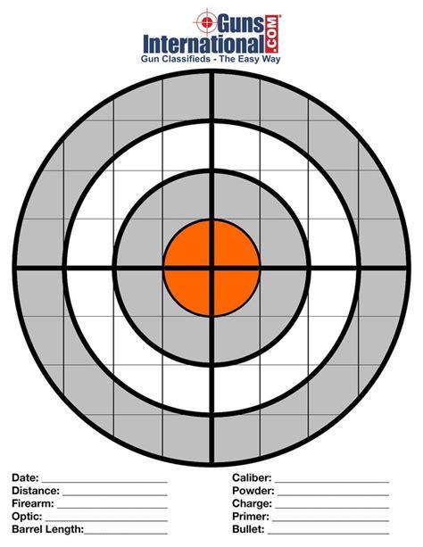 Free Long Range Rifle Targets