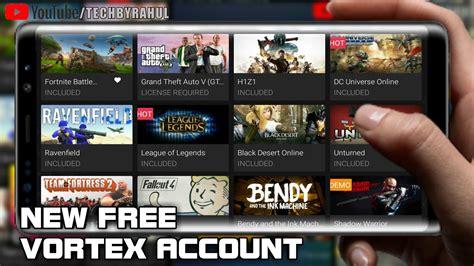 Free Vortex Cloud Gaming Account
