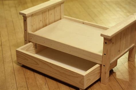 free woodworking plans for doll bed Image