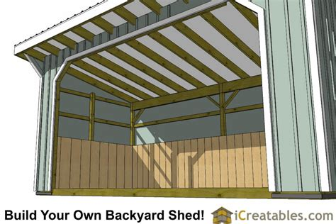 Free 10x20 shed plans Image